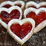 Valentine's Day PB & J Cookies