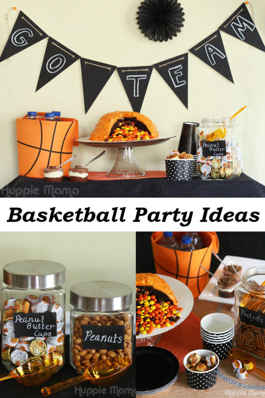 How To Host A Classy Basketball Party Our Potluck Family