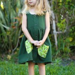 Men's Shirt to Girl's Dress Sewing Tutorial