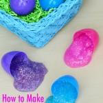 How to Make Sparkly Slime