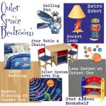 Outer Space Boys Bedroom
