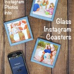 Glass Instagram Coasters Tutorial