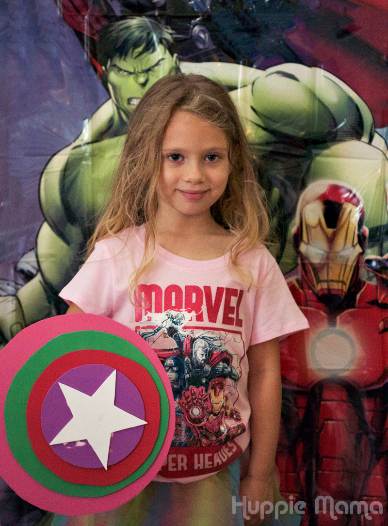 Disney Preschool Crafts Avengers Shield