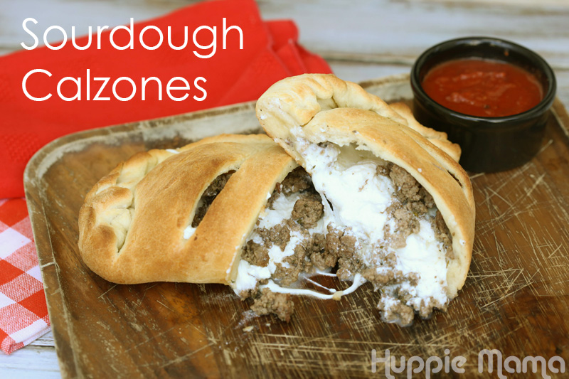 Sourdough Calzones