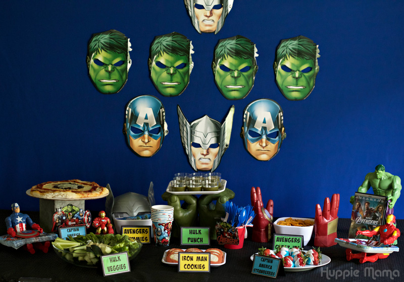 Avengers Party Ideas for Boys & Girls