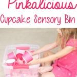 Pinkalicious Cupcake Sensory Bin