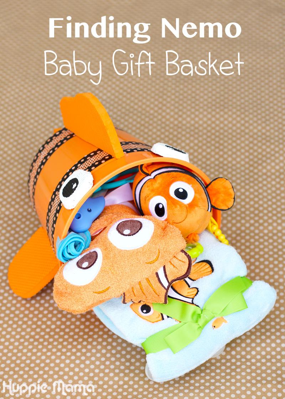 Baby Gift Basket Florida : Finding nemo baby gift basket our potluck family