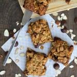 Gluten-Free Raspberry Almond Granola Squares