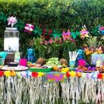 Host a Summer Luau Party