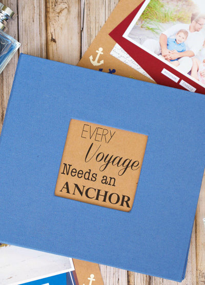 Every Voyage Father's Day Scrapbook Tutorial