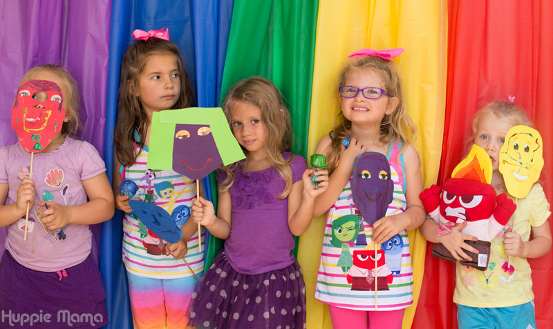 Disney Preschool Crafts Inside Out Mask