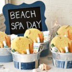 Beach Spa Party Ideas