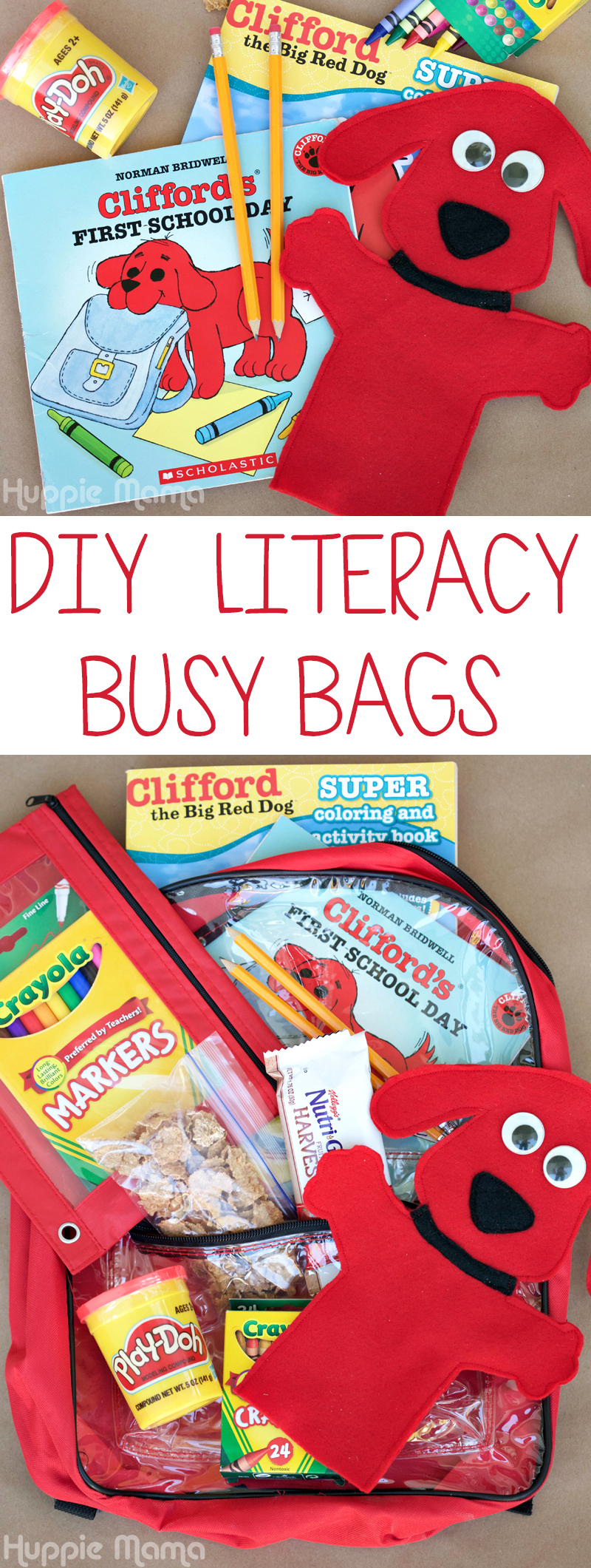 DIY Literacy Busy Bags