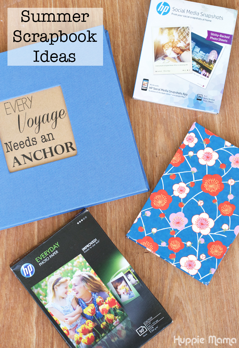 Summer Scrapbook Ideas
