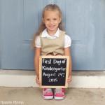 On Starting Kindergarten