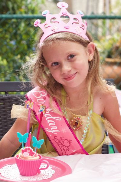 girl birthday princess crown