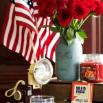 Classic American Centerpiece Ideas