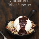 Coconutty Cookie Bar Skillet Sundae