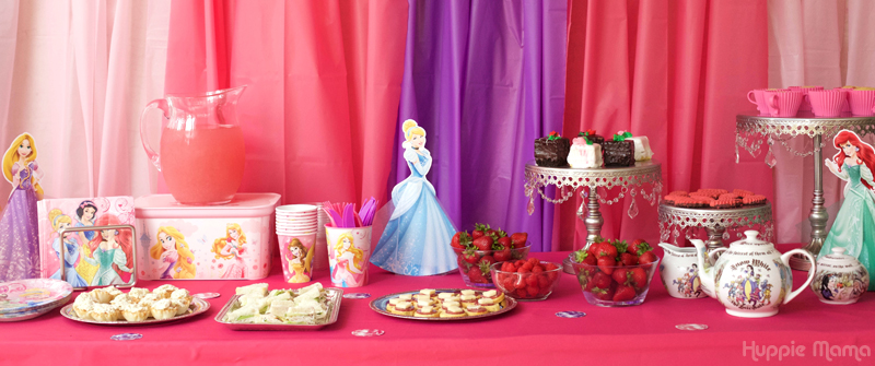 Disney Princess Tablescape