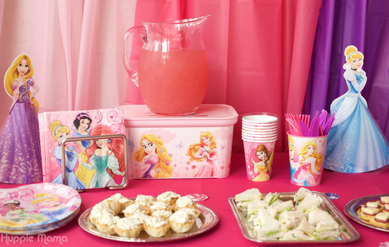 savory princess table