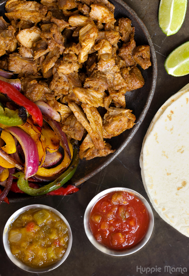 Fajita Set-up