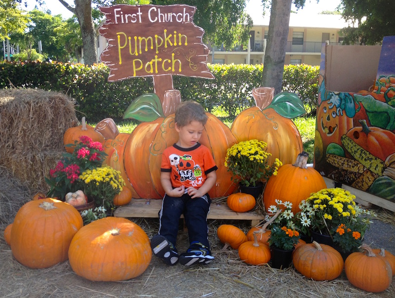 first church pumpkin patch