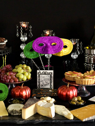 Wine and Cheese Halloween Masquerade