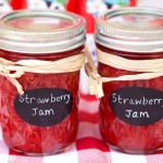 Simple Refrigerator Strawberry Jam