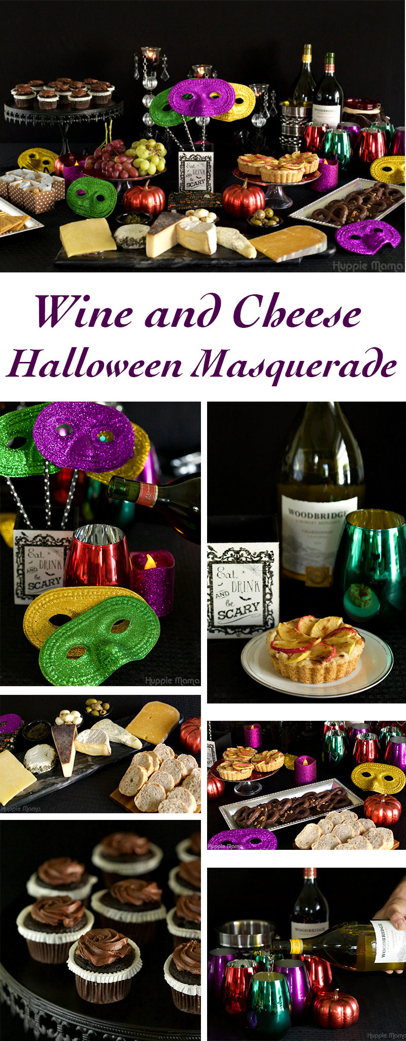 Wine and Cheese Halloween Masquerade Party
