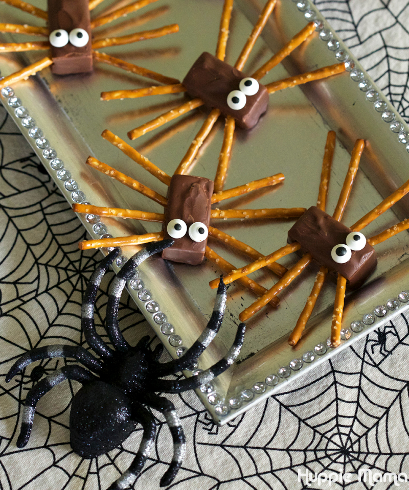 spider candy bars