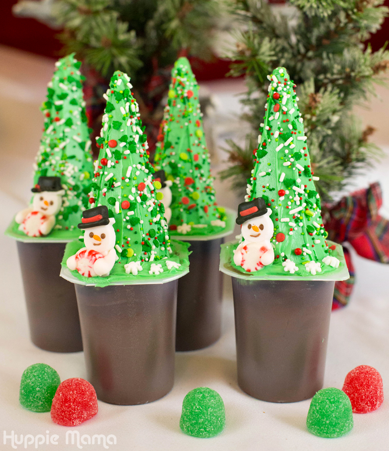 Christmas Tree Snack Packs