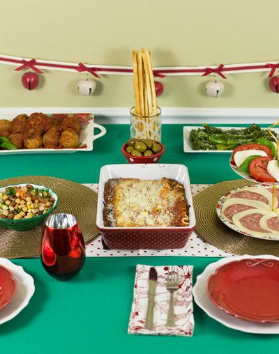 Simple Italian-American Christmas Dinner