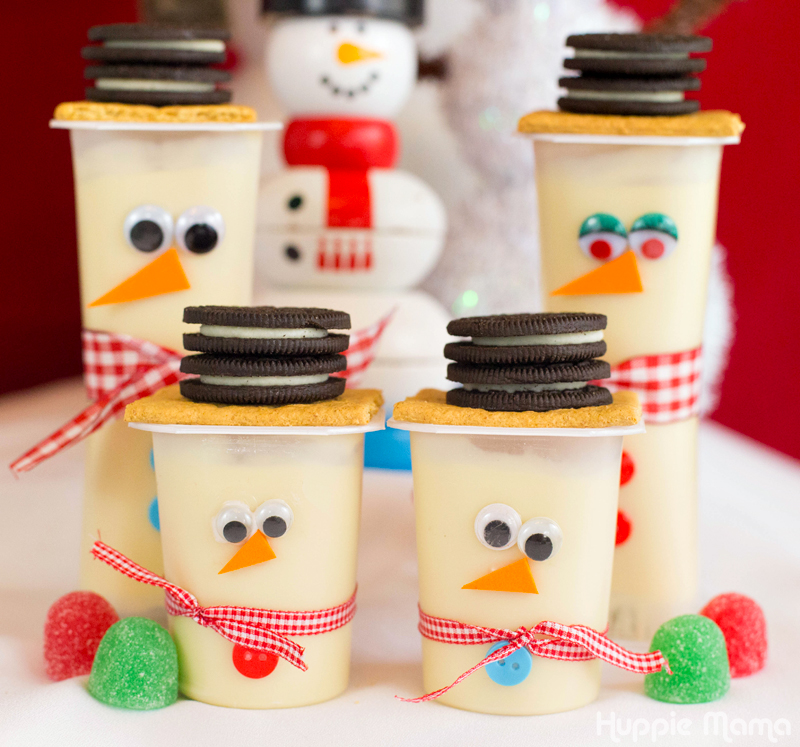Snowman Snack Packs
