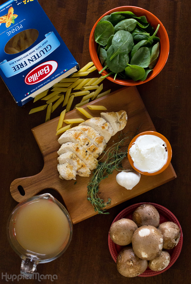 Barilla pasta ingredients