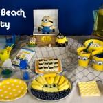 Minions Beach Party