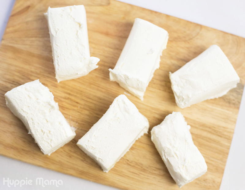 cream cheese bricks