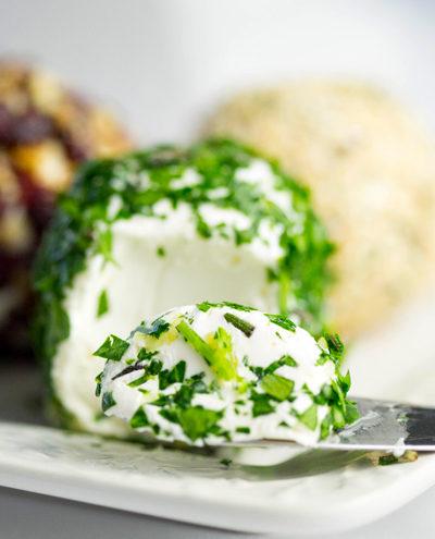 Savory Mini Cheese Balls