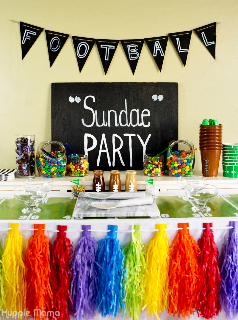 Football Sundae Party