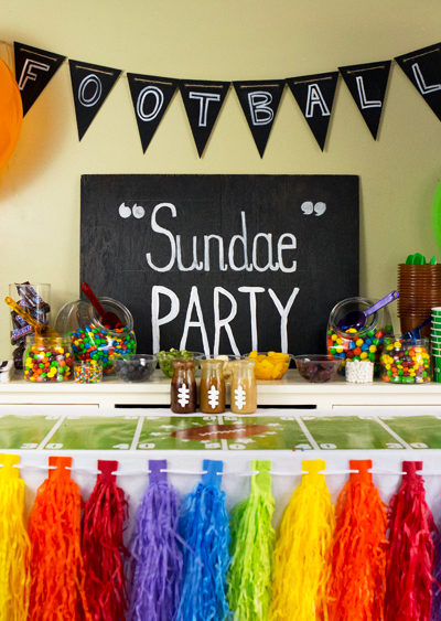 "Football ""Sundae"" Party"