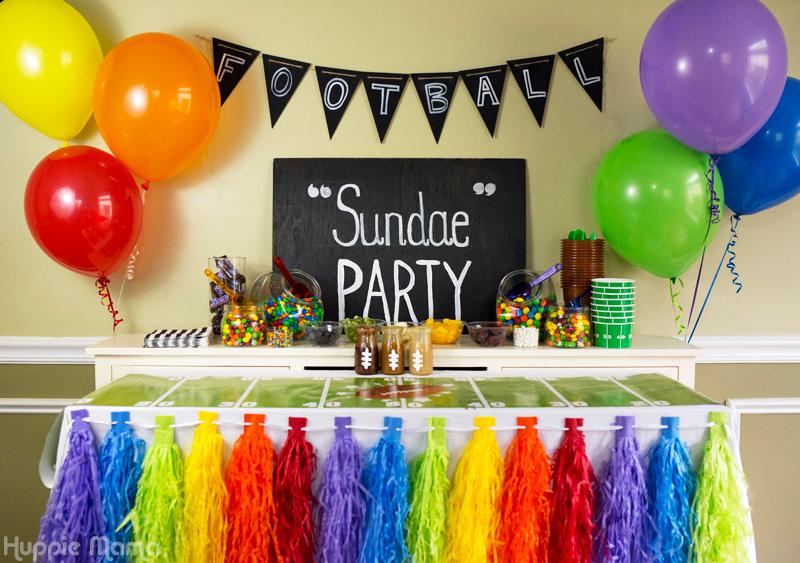 """Football """"Sundae"""" Party"""