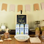 Sugar and Spice Spa Party