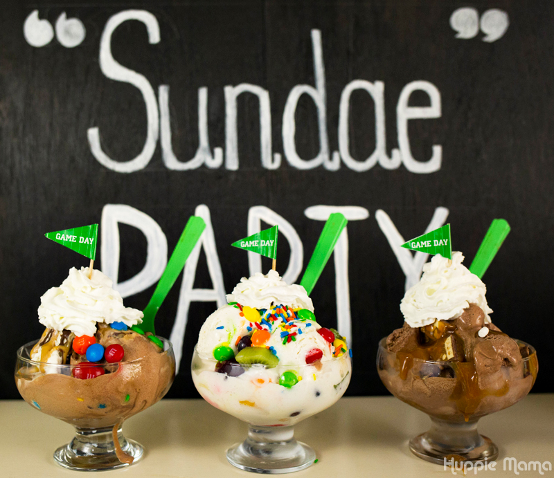 Sundae ideas
