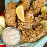 Pretzel-Crusted Fish Sticks