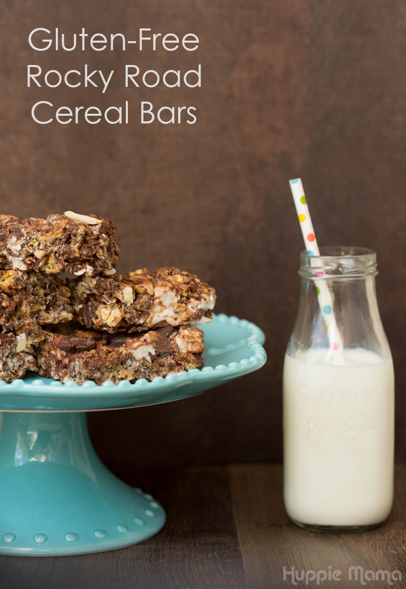 Gluten-Free Rocky Road Cereal Bars