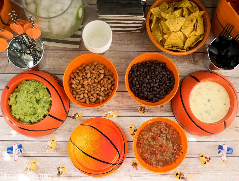 College Basketball Nacho Party