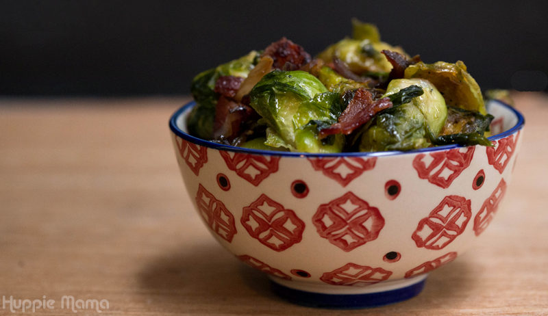 Maple Bacon Brussels Sprout