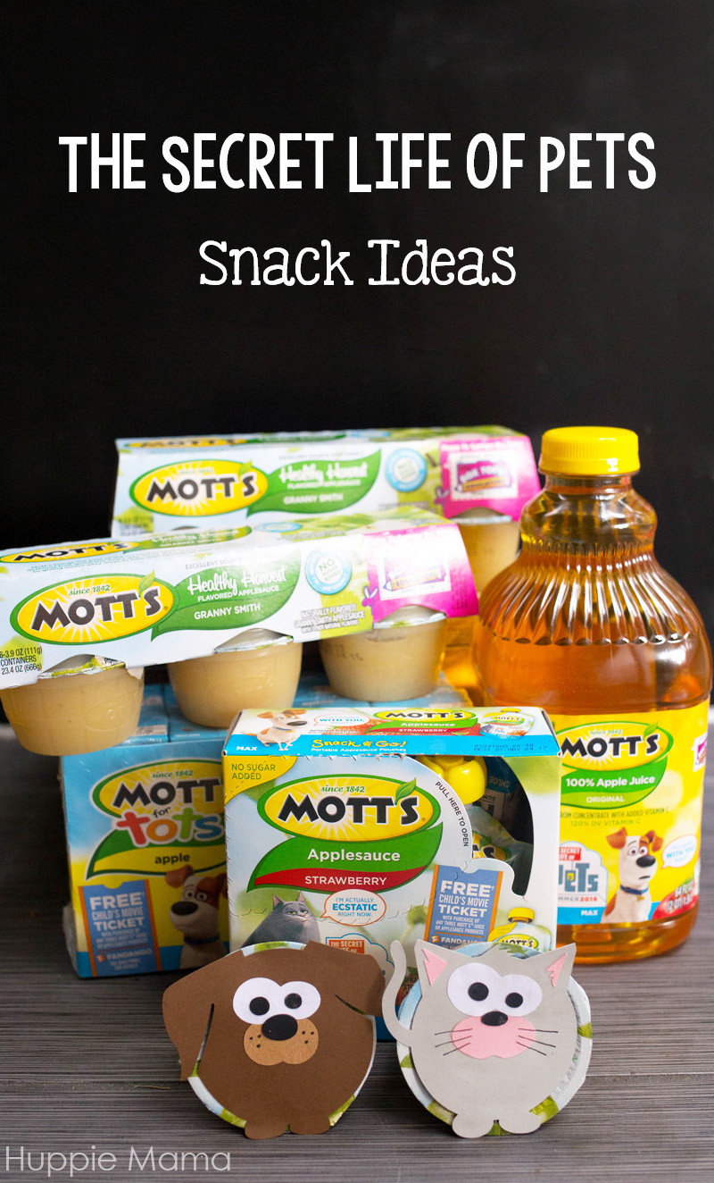 secret life of pets snack ideas   our potluck family