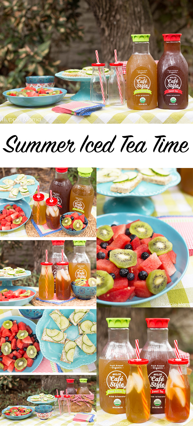 Summer Iced Tea Time