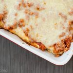 Meaty Crepe Manicotti + Kitchen Cleaning Ideas