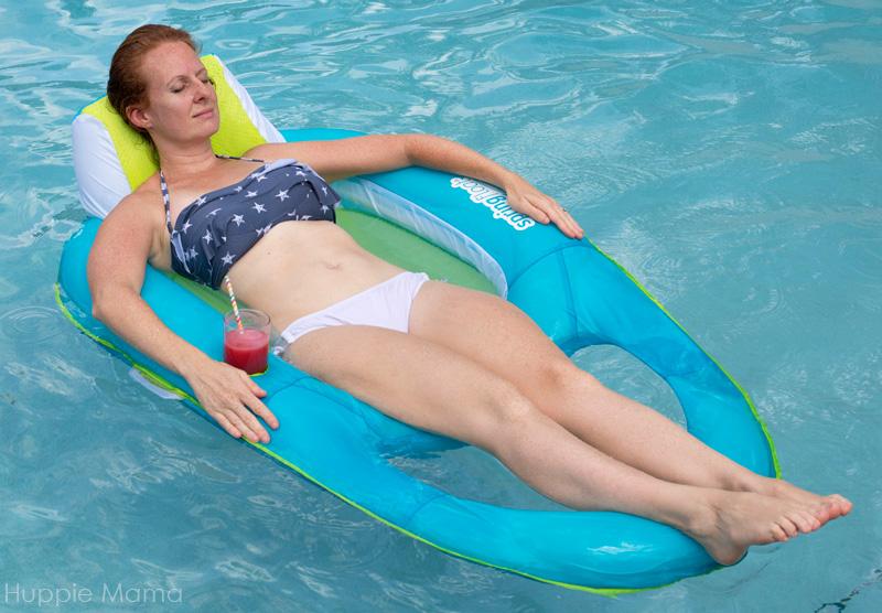 Swim Time + Watermelon Agua Fresca